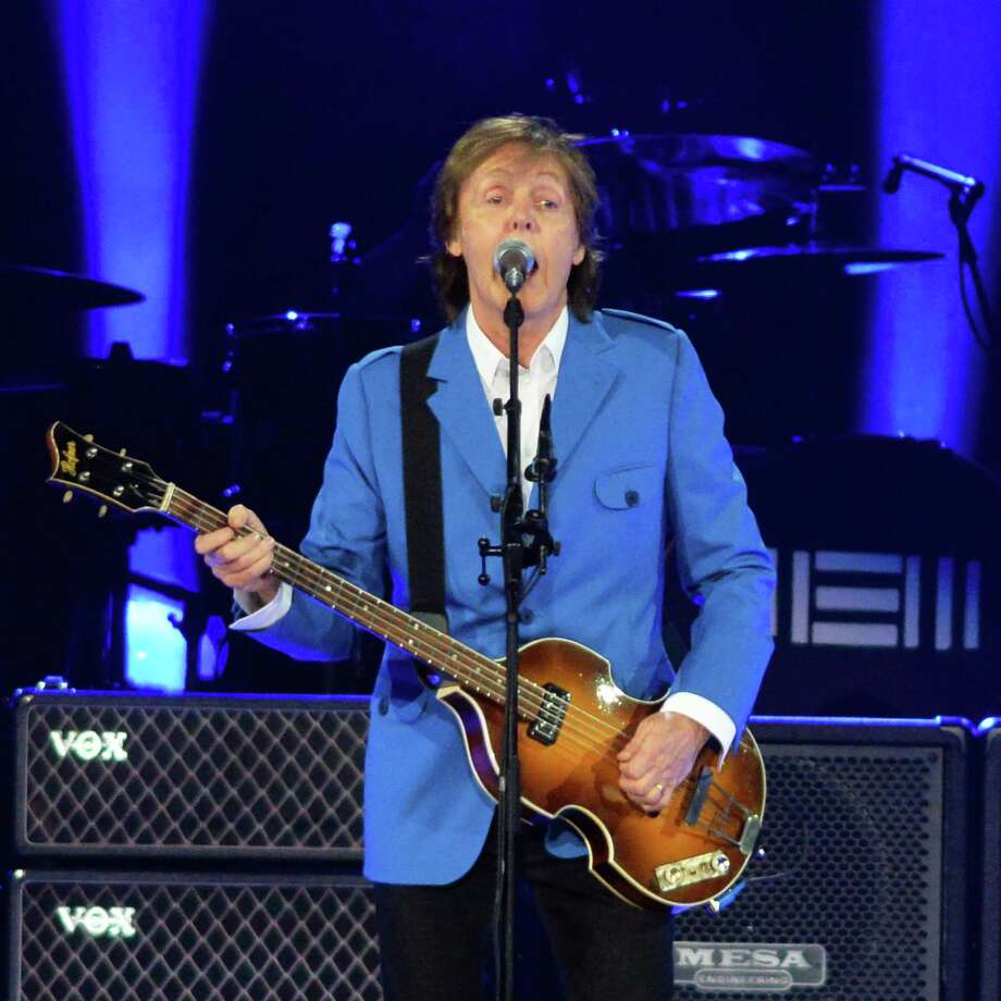 Paul McCartney performs at the Times Union Center Saturday, July 5, 2014, in Albany, N.Y.  (John Carl D'Annibale / Times Union) Photo: John Carl D'Annibale / 00027433A