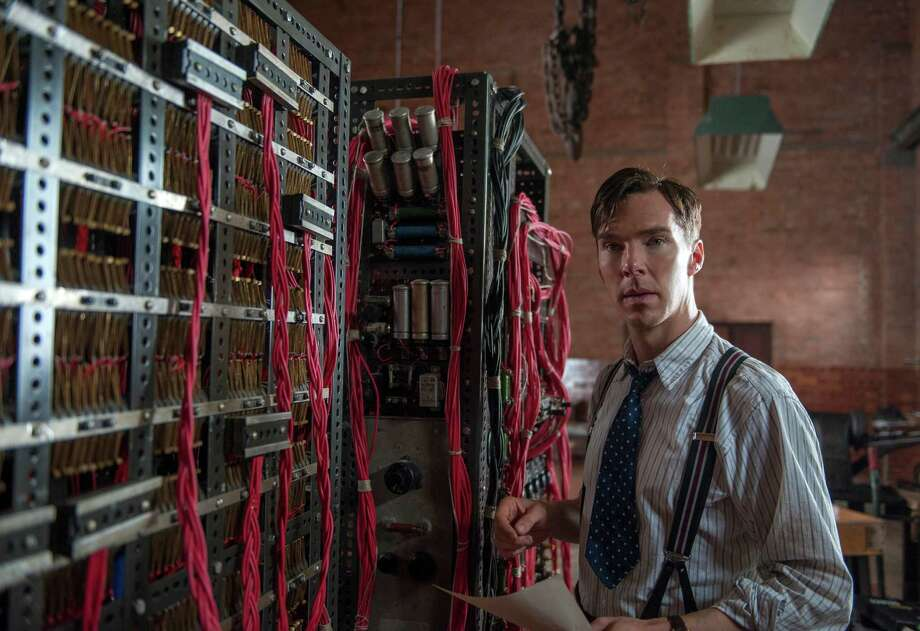 """In this image released by The Weinstein Company, Benedict Cumberbatch appears in a scene from """"The Imitation Game."""" (AP Photo/The Weinstein Company, Jack English) Photo: Jack English, HONS / The Weinstein Company"""