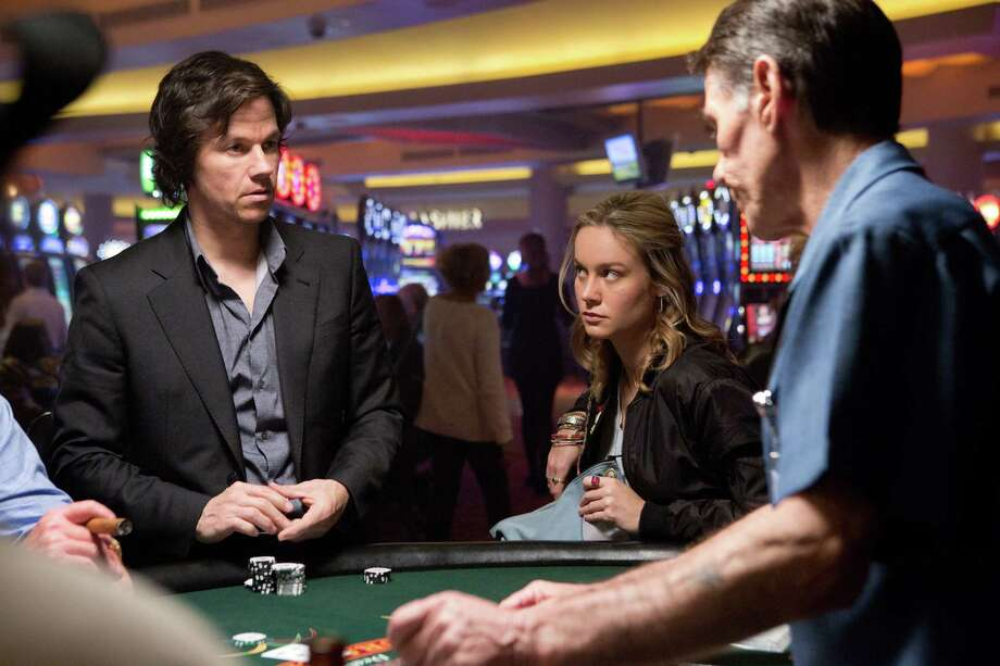 """In this image released by Paramount Pictures, Mark Wahlberg, left, and Brie Larson appear in a scene from """"The Gambler."""" (AP Photo/Paramount Pictures, Claire Folger) Photo: Claire Folger, HONS / Paramount Pictures"""