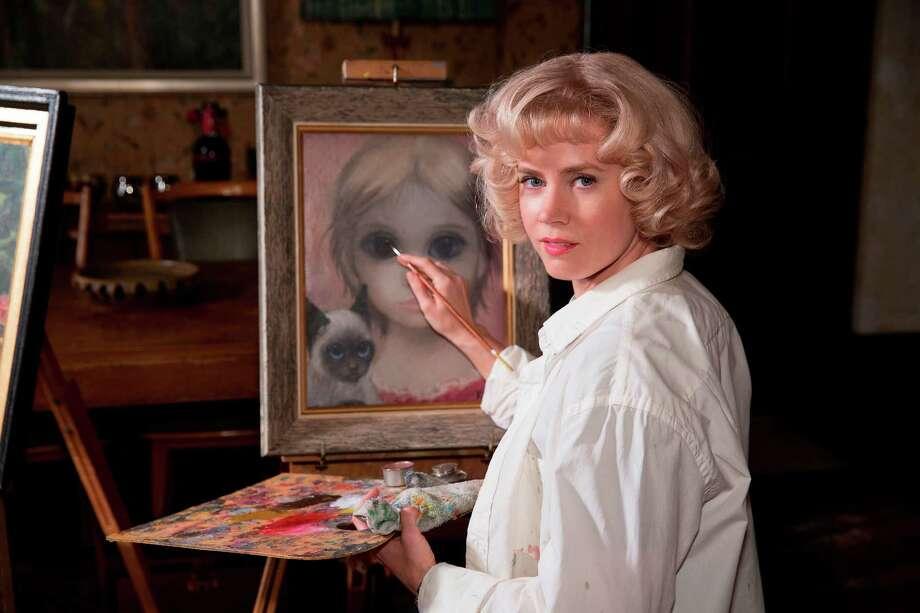 "Margaret Keane (Amy Adams) in ""Big Eyes."" (Leah Gallo/The Weinstein Company) Photo: Leah Gallo, HO / The Weinstein Company"