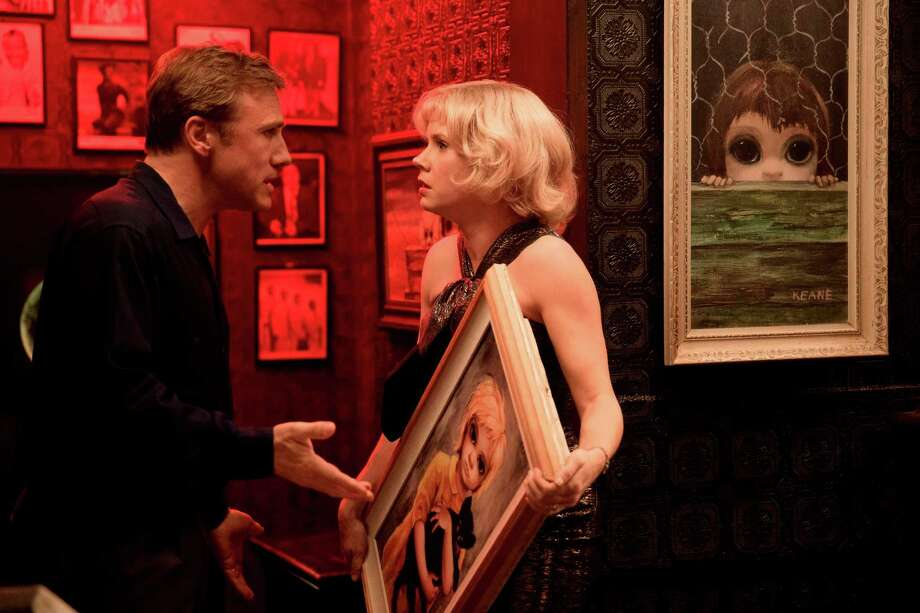 "Christoph Waltz, left, and Amy Adams appear in a scene from ""Big Eyes."" (AP Photo/The Weinstein Company, Leah Gallo) Photo: Leah Gallo, HONS / The Weinstein Company"