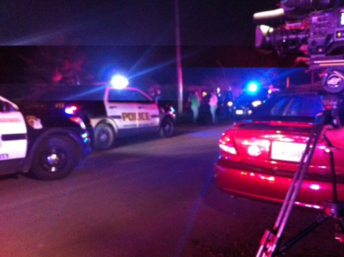San Antonio police and fire units were at the scene of a shooting in the 200 block of Ada on the Southeast Side.