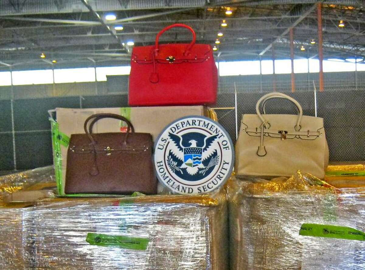 Officers at the Port of Savannah, Ga., seized 198 counterfeit Hermès Birkin handbags on Oct. 6, 2014. If the bags are genuine Hermès Birkin handbags, CBP import specialists estimate the merchandise have an estimated retail price of $1,861,200.