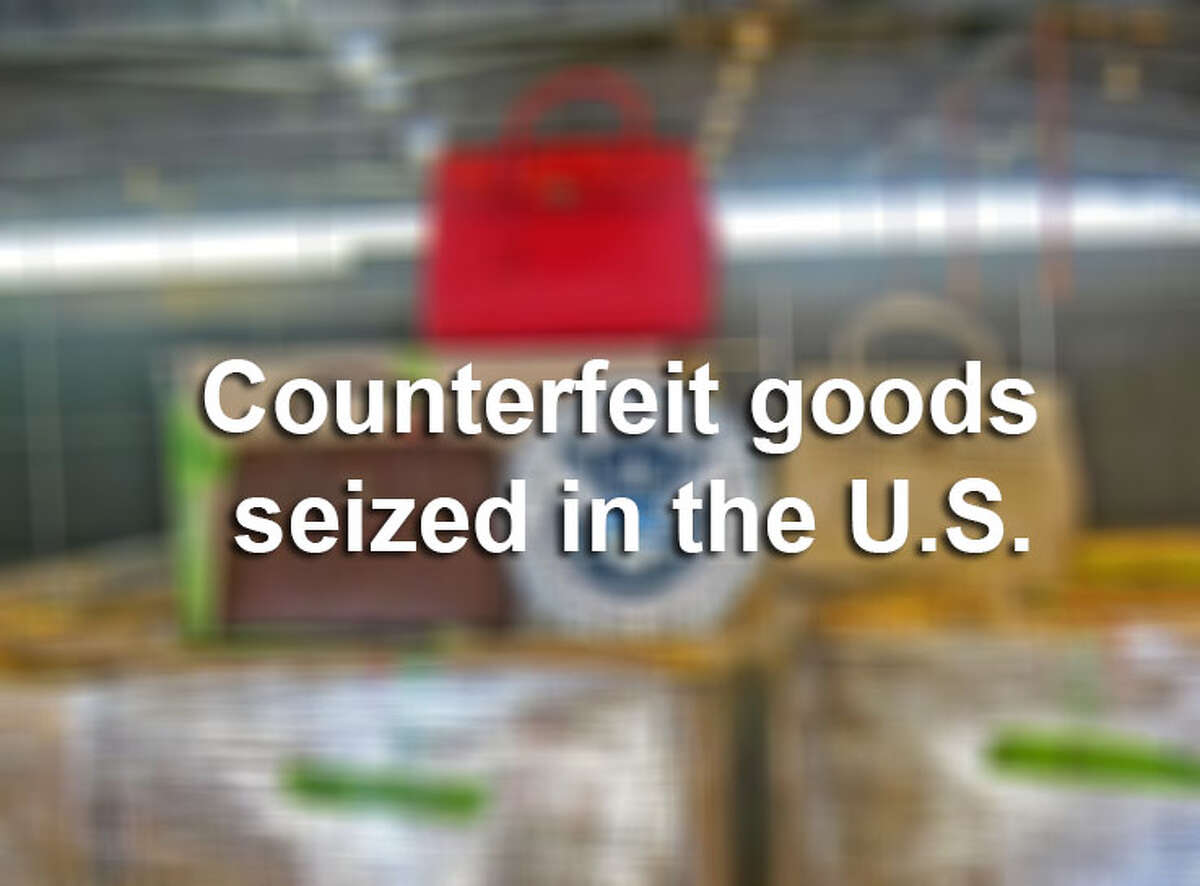 The number of seized counterfeit goods has quintupled over 10 years, and the value of seized goods lands at $1.1 billion for fiscal year 2013. Click through the slideshow to see counterfeit goods confiscated by U.S. Customs and Border Patrol.