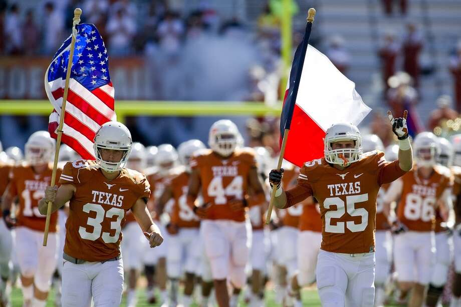 1. Texas Longhorns  Team value: $131 million  Revenue: $113 million  Profit: $74 million  Conference: Big 12  Head coach: Charlie Strong  See more at forbes.com Photo: Mario Cantu, ASSOCIATED PRESS