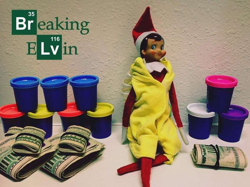 Elf On The Shelf This newfound tradition comes from a 2005 children's book by Carol Aebersold and Chanda Bell that tells the story of