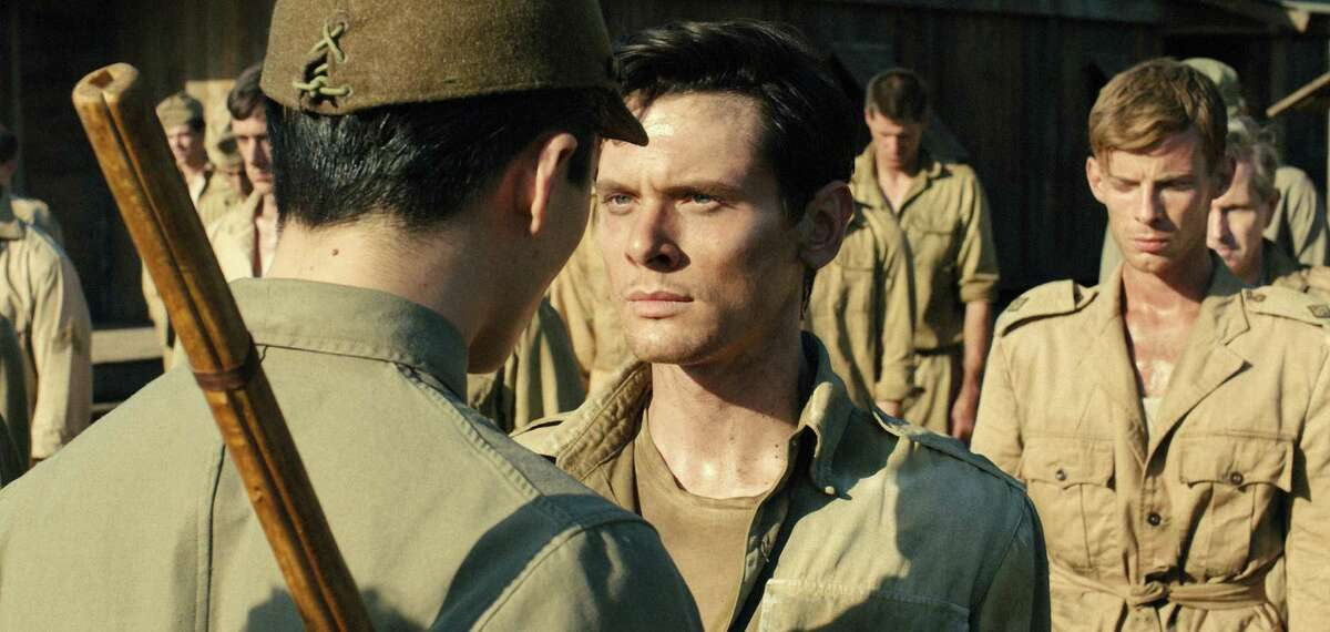 Jack O'Connell portrays Olympian and war hero Louis Zamperini in