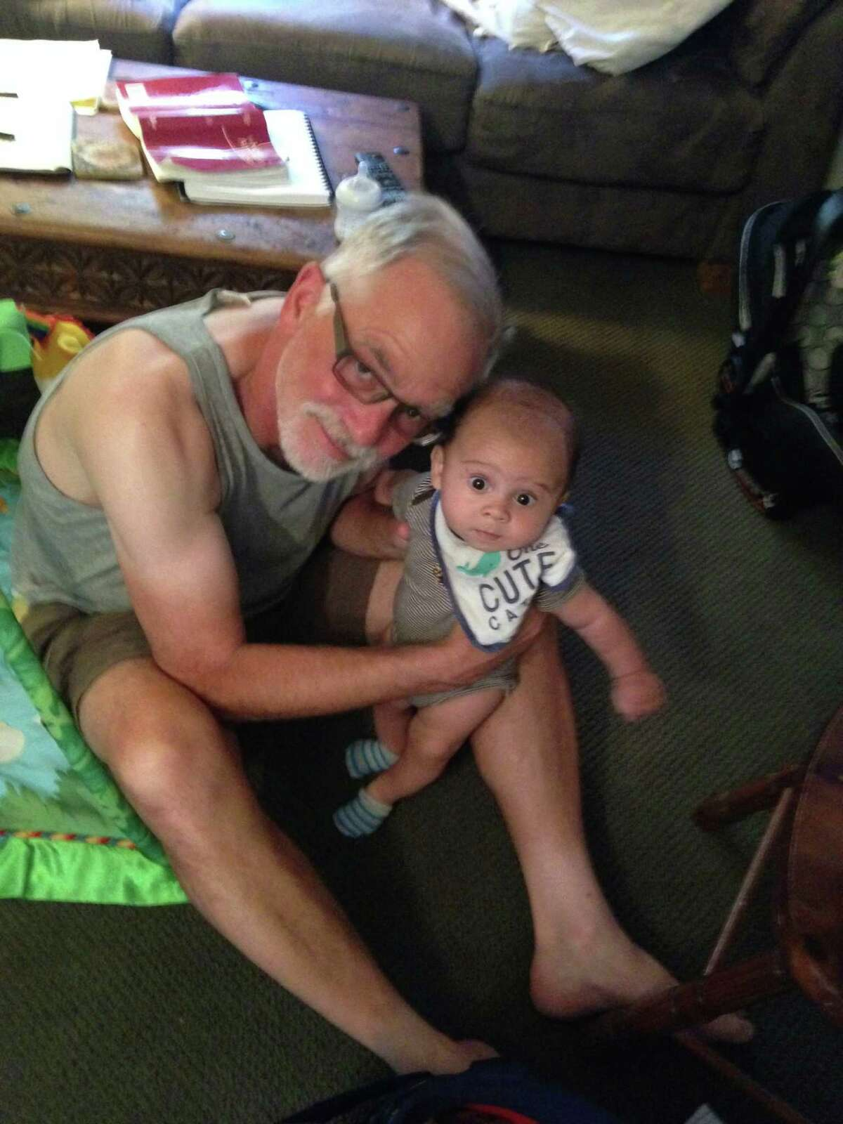 David Ruenzel, of Oakland, leaves behind a grandson born earlier this year.