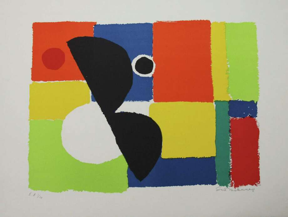 "Greenwich Arts Council, 299 Greenwich Ave., will display the art of Sonia Delaunay (1885-1979) through Wednesday, Jan. 7.  Delaunay was considered among one of the most important female artists of the 20th century.  The show includes classic examples of both her abstract compositions and dress designs. Pictured above is her lithograph, ""Eclipse."" Hours are Monday through Friday, 10 a.m. to 5 p.m. and Saturday and Sunday, 12 to 4 p.m. For more information, call 203-862-6751 or visit www.greenwichartscouncil.org Photo: Contributed Photo / Greenwich Time Contributed"
