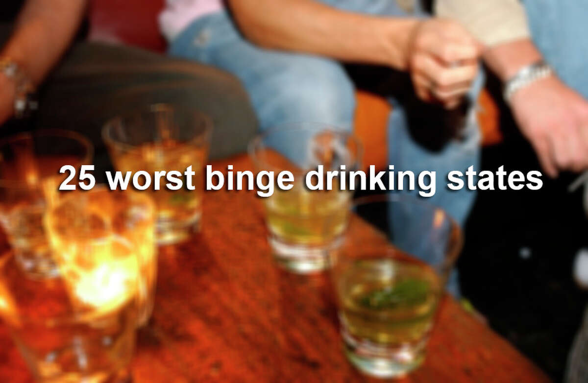 Scroll through the gallery to see which states drink Texas under the table. Hint: with a couple exceptions, they're chilly.