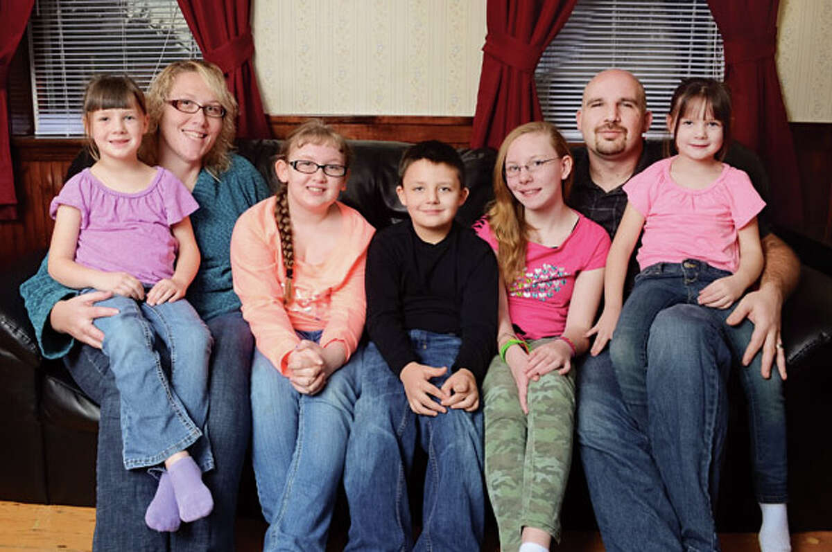 Combining their incomes, the Crossman-Recore family household brings in about $75,000 a year (before taxes). Which sounds as if it should be enough, considering the poverty line for a family of four is $23,850. But Crossman says her family lives paycheck to paycheck. (Colleen Ingerto/518Life) Read more here