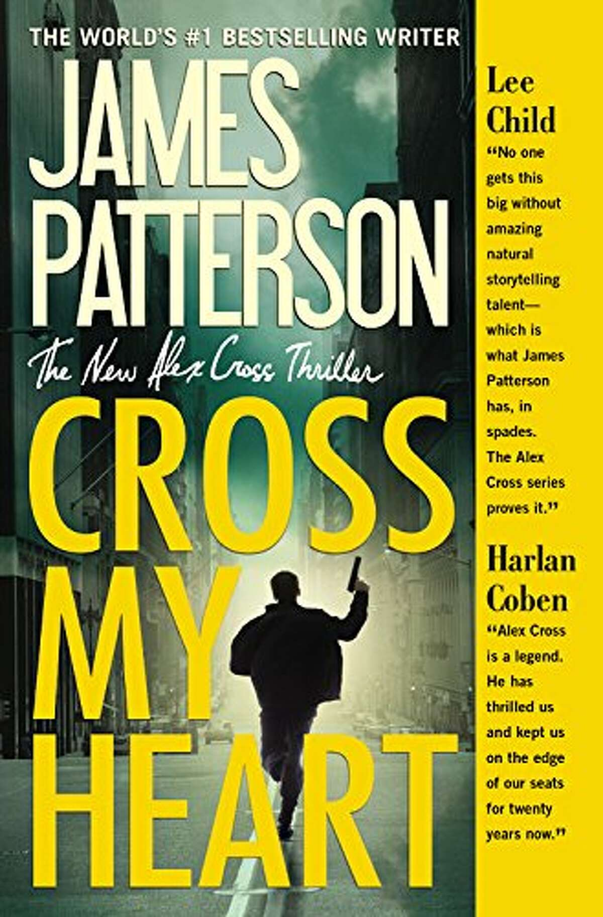 """5. """"Cross My Heart"""" by James Patterson Category: Adult Fiction - Physical Checked out 974 times in 2014 Source: San Antonio Public Library Photo:Amazon"""