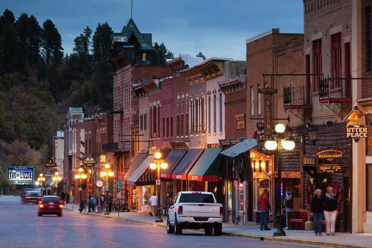 Deadwood, S.D. Notable ghostly activity: The Lone Star Building, the Bullock Hotel and the Fairmont Hotel.