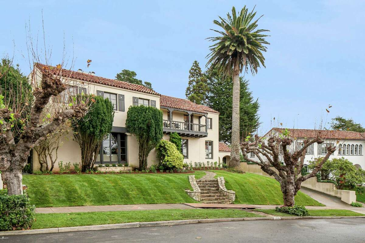225 San Anselmo Ave. is a five-bedroom Mediterranean in St. Francis Wood.