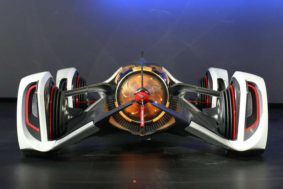 The Chevrolet Chaparral 2X Vision Gran Turismo Concept makes at its debut at the 2014 Los Angeles Auto Show on November 19, 2014 in Los Angeles, California. This year's show is slated to have a record 25 world auto debuts with at least 30 others having North American debuts. Photo: David McNew, Getty Images