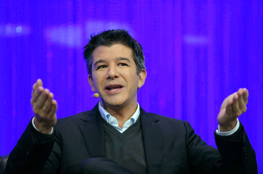 Uber co-founder Travis Kalanick faces charges in South Korea of operating an illegal taxi service. Photo: ERIC PIERMONT / AFP/Getty Images / AFP