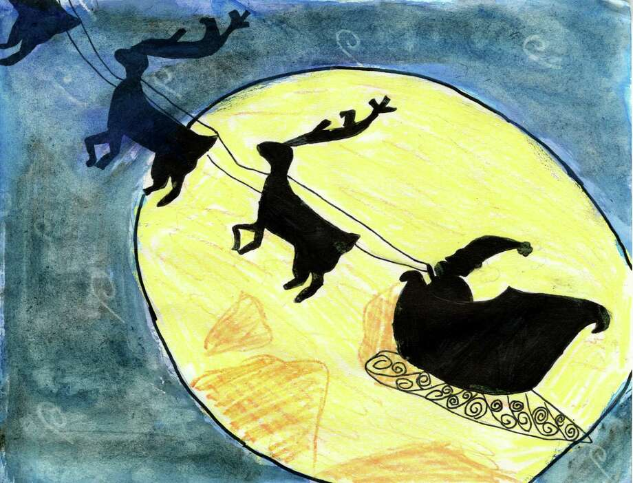 2014 TU Holiday Card Winner: Emma York, age 10, grade 5 at Lisha Kill Middle School  times union