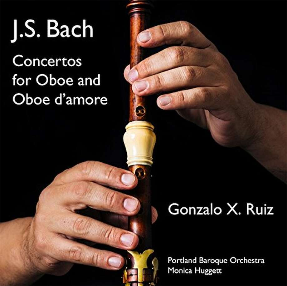 CD cover: Gonzalo X. Ruiz plays Bach Photo: Avie Records / ONLINE_YES