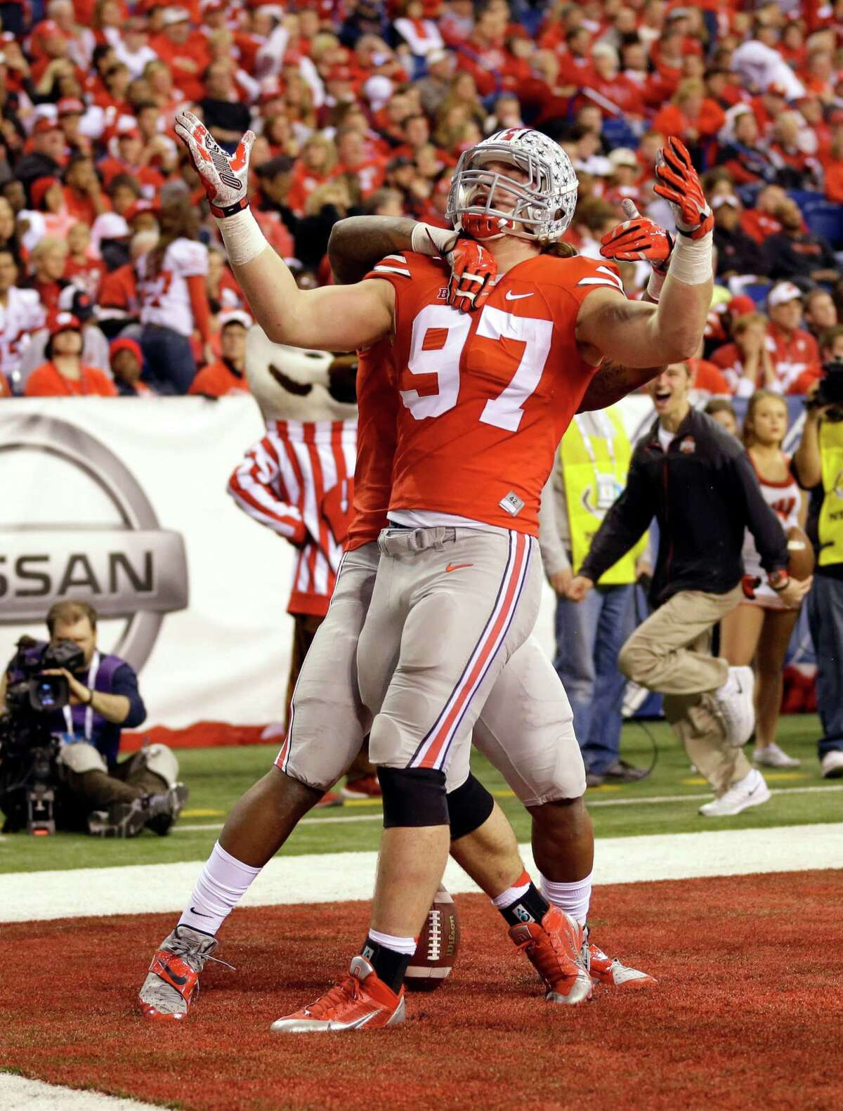 3. Chargers McClain: Joey Bosa, DE, Ohio State (pictured) Wilson:Laremy Tunsil OT Ole Miss