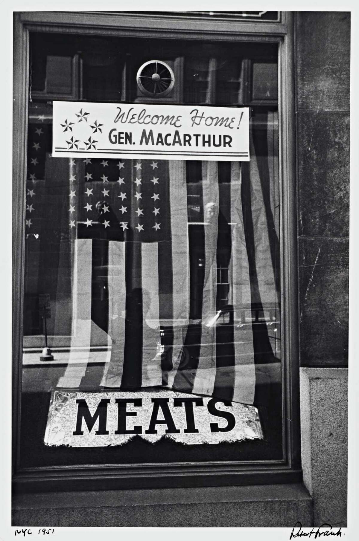 """New York City"" (1951) gelatin silver print by Robert Frank Robert Frank."