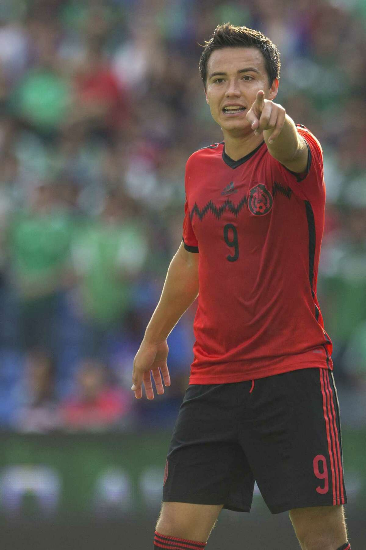 QUERETARO, MEXICO - OCTOBER 12: Erick Torres of Mexico reacts during a friendly match between Mexico and Panama at Corregidora Stadium on October 12, 2014 in Queretaro, Mexico. (Photo by Miguel Tovar/LatinContent/Getty Images)