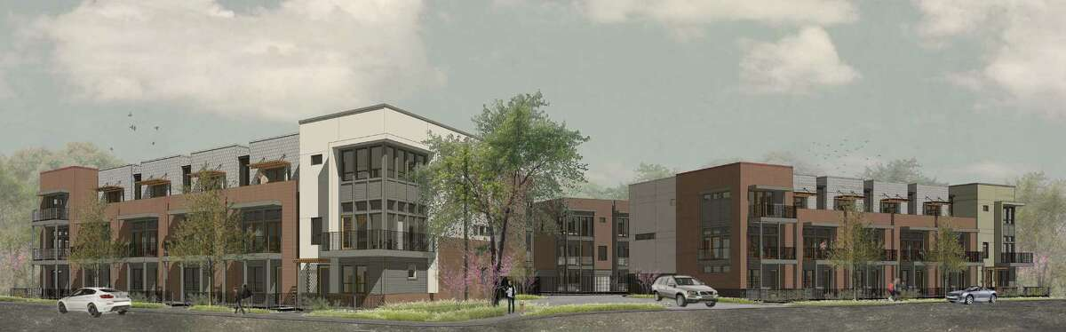 SoJo Crossing will be a 27-unit townhome project at the southeast corner of Myrtle Street and East Euclid Avenue. Construction is scheduled to begin March 2015.