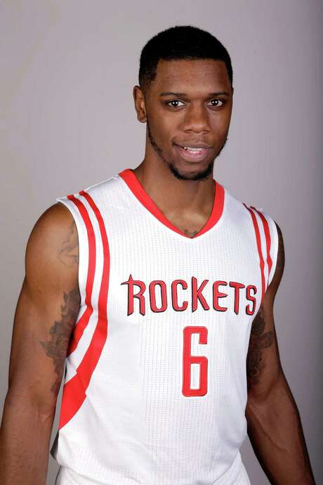 Houston Rockets' Terrence Jones poses during media day Monday, Sept. 29, 2014, in Houston. (AP Photo/David J. Phillip) Photo: David J. Phillip, STF / AP