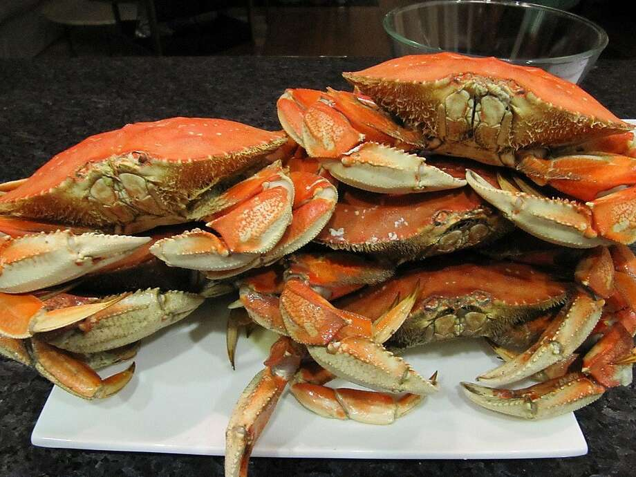 Crab is the official food of the holidays. Photo: California Restaurant Month