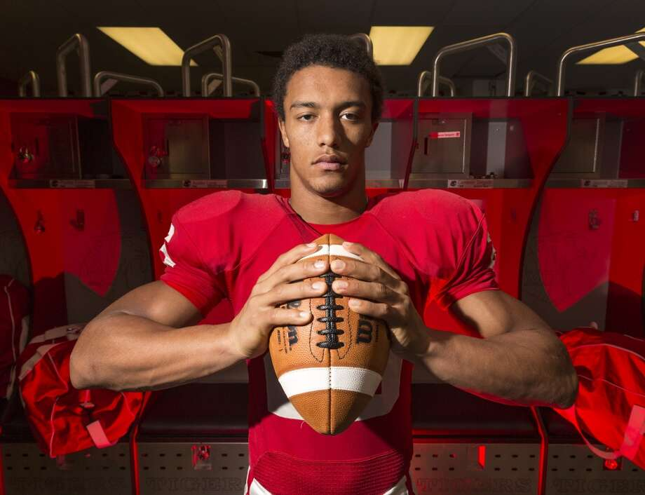 """OFFENSIVE PLAYER OF THE YEAR  For two years, Rodney Anderson was the """"little brother"""" to fellow running back Adam Taylor. Anderson filled in when Taylor went down with an injury in 2011, and the two formed a state championship duo for Katy in 2012.With Taylor going off to Nebraska, Anderson was the lead running back for the run-heavy Tigers, who went 29-3 during the stretch and made a second and third straight trip to state. Anderson, who formed another potent combo with junior Kyle Porter, ran for 2,662 yards on 265 attempts (10.1 yards per carry) and 39 TDs this season. He was at his best in the playoffs, where he eclipsed the 200-yard mark four weeks in a row. Photo: Craig Hartley, For The Chronicle"""