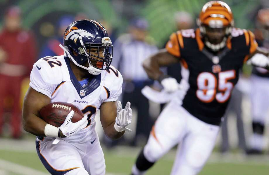 Ex-Cal player C.J. Anderson, with his Denver breakthrough, is among such ex-Bears stalwarts as Marshawn Lynch and Justin Forsett excelling in the NFL. Photo: Michael Conroy / Associated Press / AP