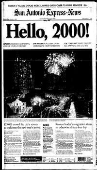 Jan. 1, 2000 Photo: Express-News File Photo