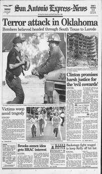 April 20, 1995 Photo: Express-News File Photo