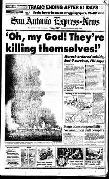 April 20, 1993 Photo: Express-News File Photo