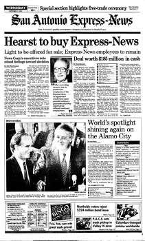 Oct. 7, 1992 Photo: Express-News File Photo
