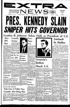 Nov. 22, 1963 Photo: Express-News File Photo