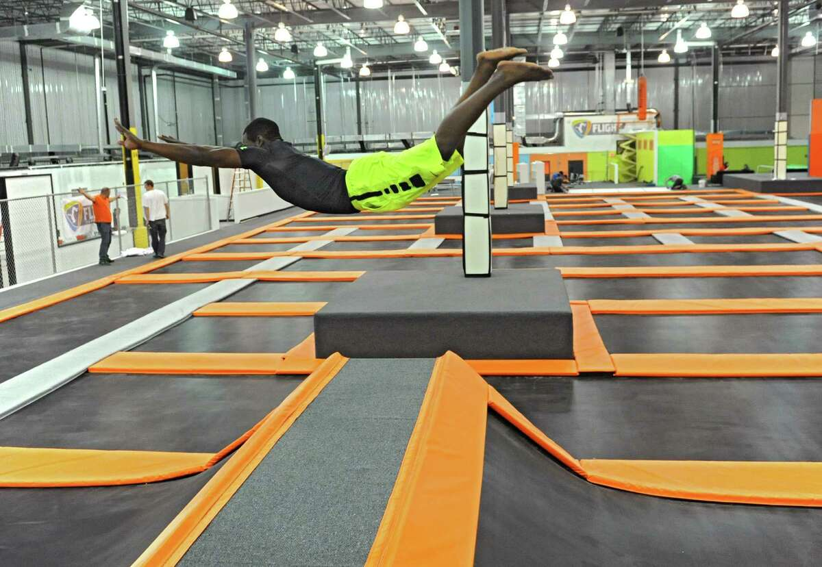Also try Flight Trampoline Park in Colonie. They also have fitness classes and dodgeball. Visit the website.