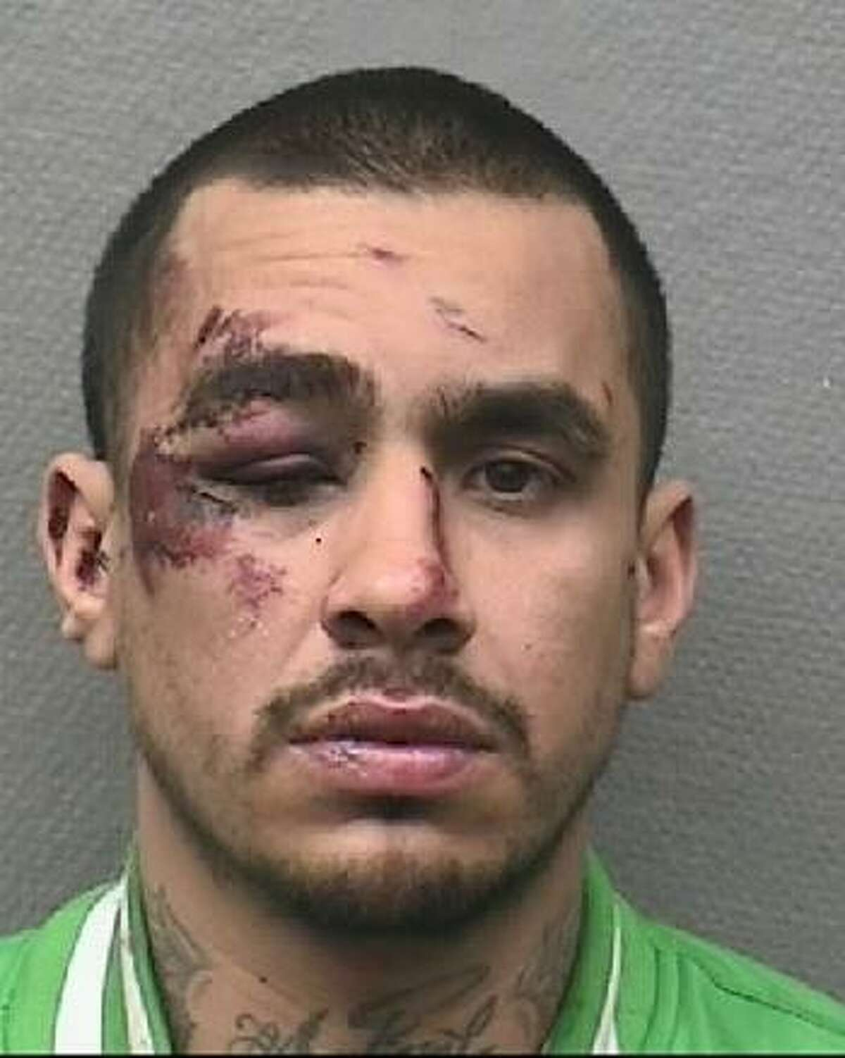 Raul Saenz III, 31, has been charged with two counts of intoxicated assault for his involvement in the accident in the 600 block of East Crosstimbers just after 6 a.m. Wednesday. The silver Chevrolet Aveo he was driving collided with a gold Ford van, with Saenz and his passenger both ejected from the vehicle. The woman, aged 47, died on Christmas Day from her injuries sustained in the crash that also saw two other persons in the other vehicle transported to an area hospital with non-life-threatening injuries. Saenz was determined to be intoxicated at the time of the crash and was taken into custody.