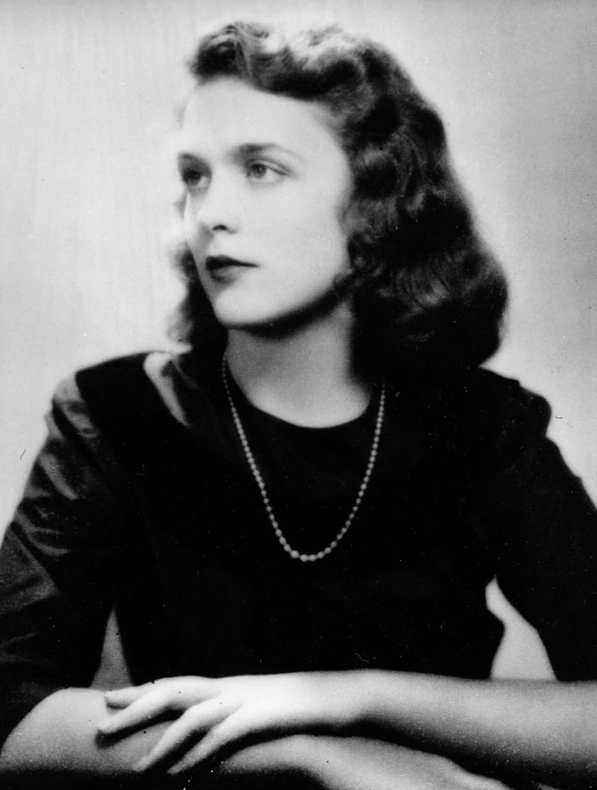 Barbara Pierce, the future Barbara Bush, is shown in her graduation photo from Ashley Hall, a finishing school in Charleston, S.C., in 1943. (AP Photo)