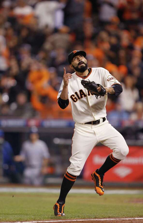 Sergio Romo has been part of the S.F. Giants' three world championships. Photo: Scott Strazzante / The Chronicle / ONLINE_YES