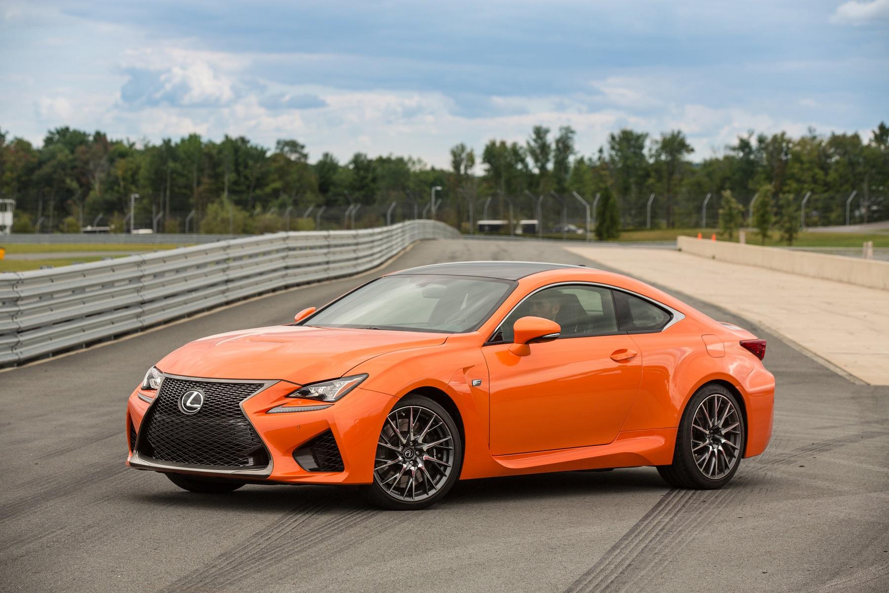 Lexus Two Door >> Lexus gets radical with 2015 2-door RC coupe lineup