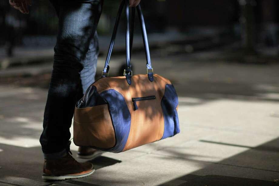Looptworks Luv Seat weekender duffel bag, $225