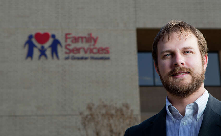 "Thrive director Richard Simonds: ""We start where the client wants."" Photo: Cody Duty, Staff / © 2014 Houston Chronicle"