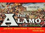 """The Alamo"" starring John Wayne, Richard Widmark, Laurence Harvey and Richard Boone."