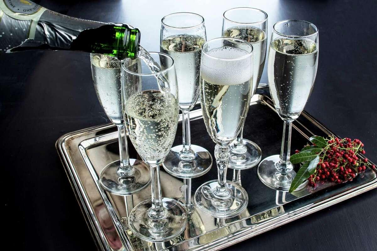 Champagne creates a festive holiday mood like no other wine.