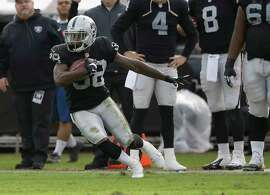Besides his cornerback duties, TJ Carrie also returned three punts against Buffalo on Sunday.