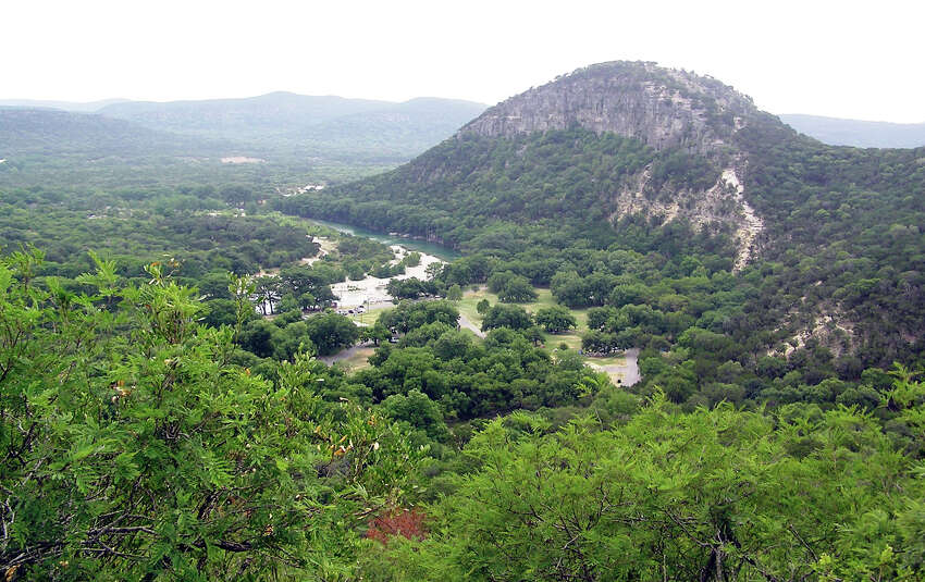 Garner State Park Just 30 minutes north of Uvalde, Garner State Park is known for hiking, swimming and camping - enough to make it one of the most visited state campgrounds in Texas, attracting around 350,000 campers each year.