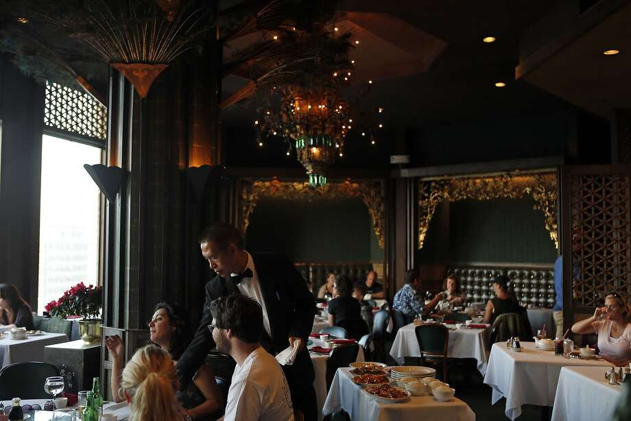 Main Dining Room at Empress of China restaurant on Grant Avenue in San Francisco, Calif. on Monday, September 29, 2014. Photo: Scott Strazzante, The Chronicle