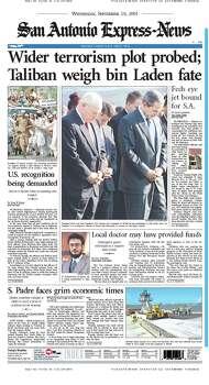 Sept. 19, 2001 Photo: Express-News File Photos