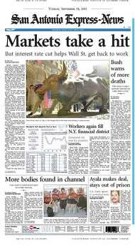 Sept. 18, 2001 Photo: Express-News File Photos