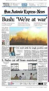 Sept. 16, 2001 Photo: Express-News File Photos